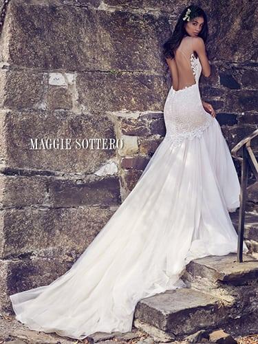 Maggie-Sottero Adaleine 8MC564 Back Wedding Dress