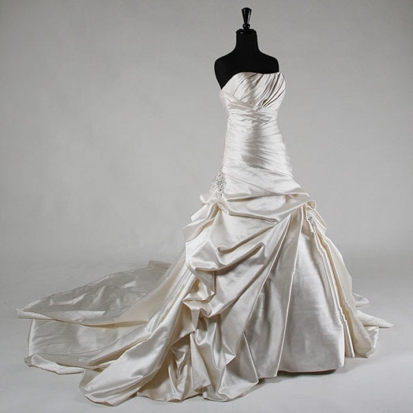 Patricia South Exclusive Strapless Wedding Dress