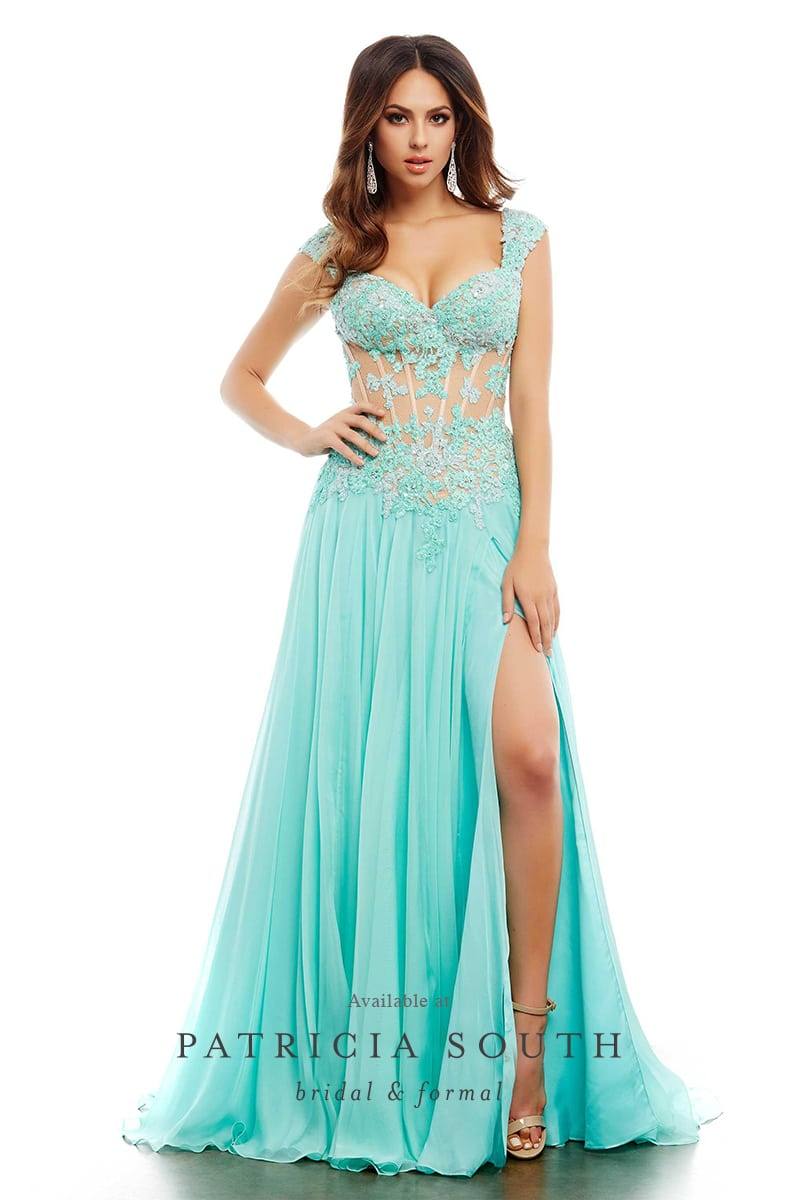 PSM10018A - Prom Gown Look Book