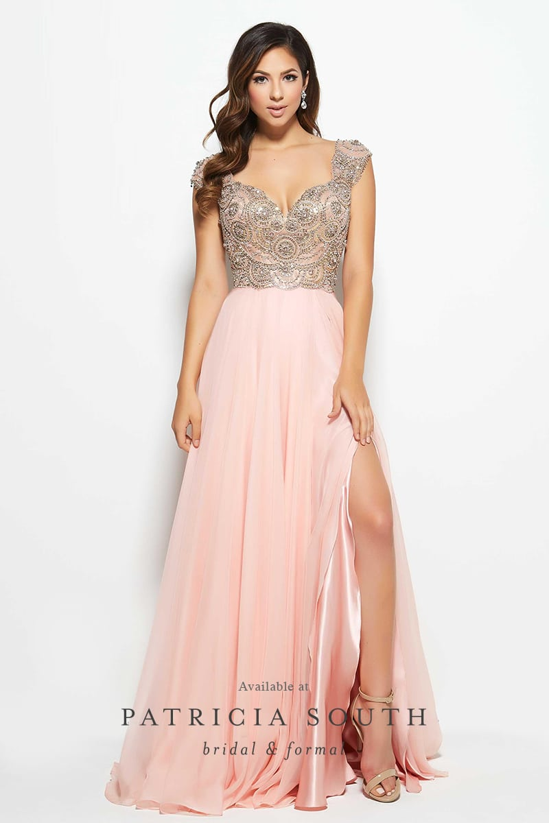 PSM10081M - Prom Gown Look Book