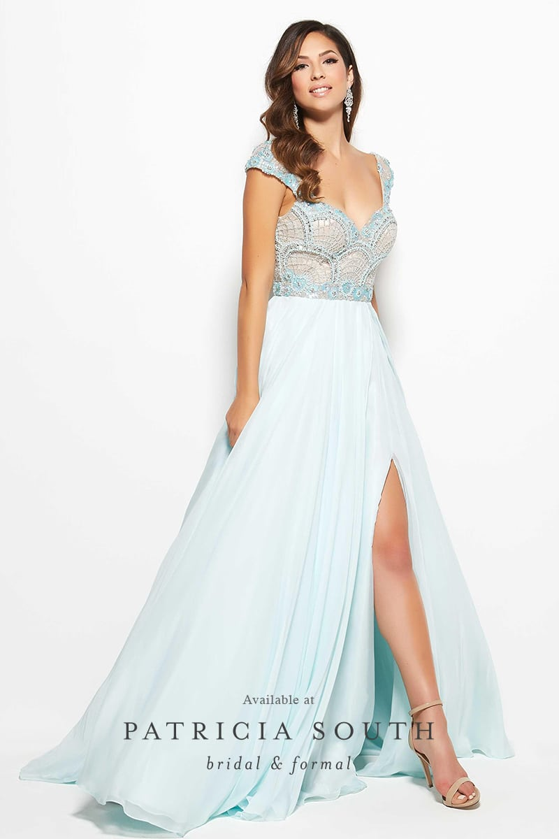 PSM10094M - Prom Gown Look Book