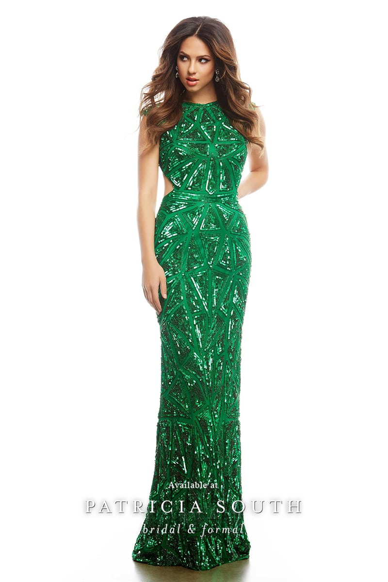 PSM4241A - Prom Gown Look Book