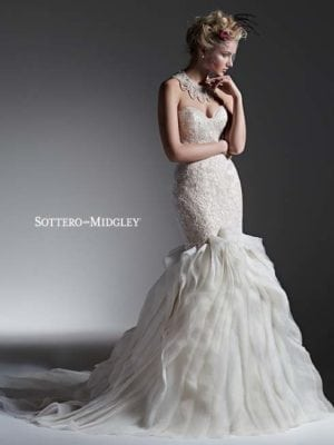 Sottero and Midgley Faith 6SC176 Lace Bridal Gown