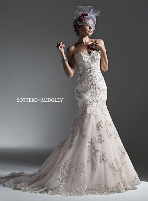 Sottero and Midgley Keagan 6SD231 Bridal Gown