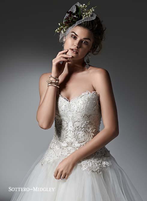 Sottero and Midgley Sigourney 6SD283 Bridal Gown