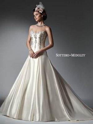 Sottero and Midgley Vanessa 6SS282 Bridal Gown