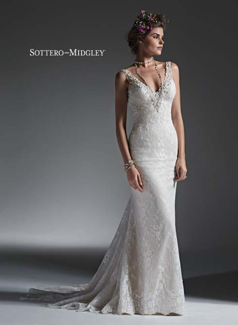 Sottero and Midgley Perri 6ST243 Bridal Gown