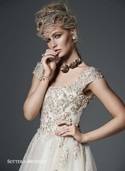 Sottero and Midgley Evelyn 6SW196 Bridal Gown