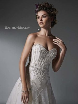 Sottero and Midgley Virginia 6SW217 Bridal Gown