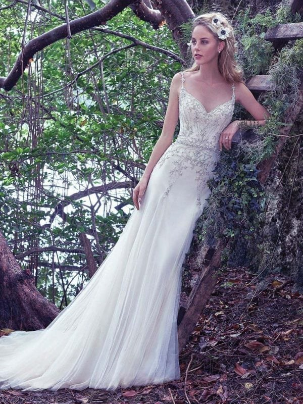 Maggie Sottero Andraea 6MR840 Wedding Gown