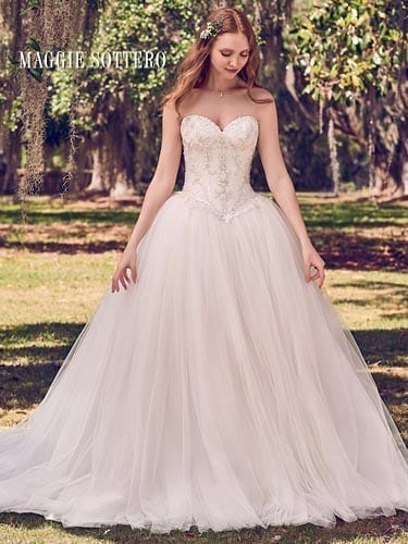 Maggie Sottero Benton 8MC504 Straples Wedding