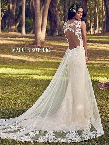 Maggie Sottero Bernadine 8MN499 Lace Wedding Dress