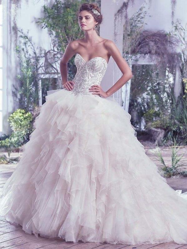 Maggie Sottero Castalia 6MG752 Wedding Gown