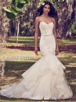Maggie Sottero Dalinda 8MW470 Sweetheart Wedding Dress