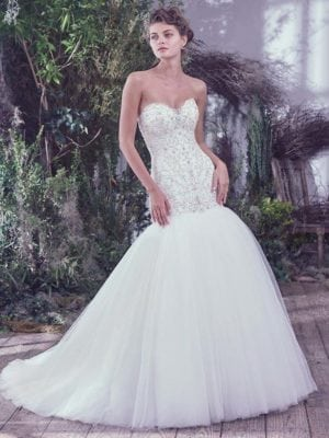 Maggie Sottero Daryl 6MS823 Bridal Gown Wedding Gown
