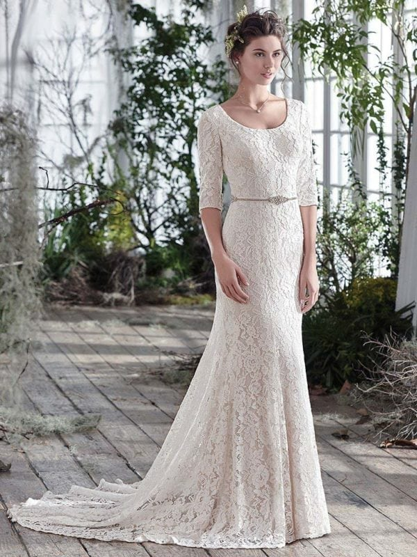 Maggie Sottero Fairchild 6MZ828 Wedding Gown
