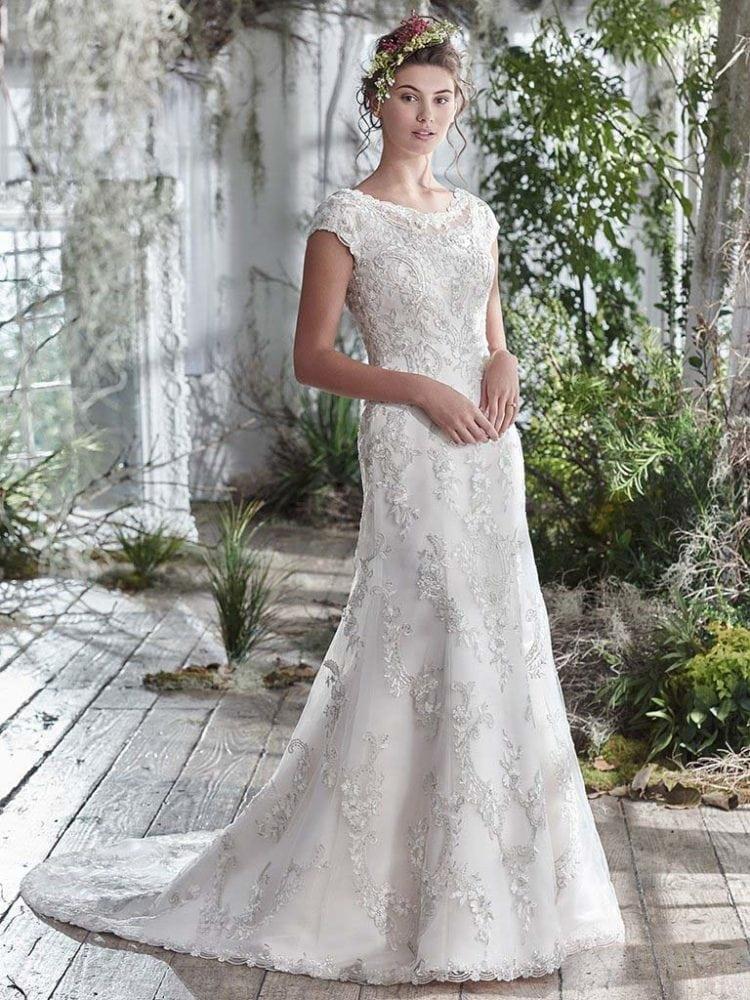 Maggie Sottero Georgianna 6MW798 Sheath Wedding Dress