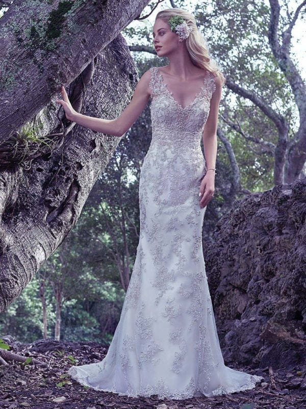 Maggie Sottero Greer 6MG799 Lace Wedding Gown