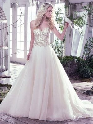 Maggie Sottero Lorenza 6MR776 Wedding Gown