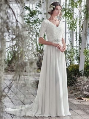 Maggie Sottero Lyliette 6MS829 Wedding Gown