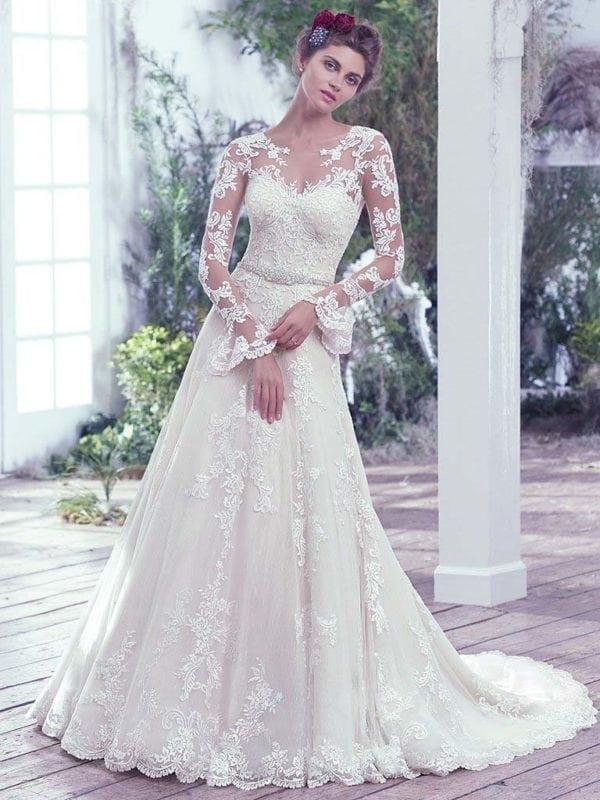 Maggie Sottero Monterey 6MW825 Wedding Gown
