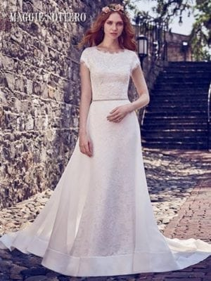 Maggie Sottero Raylene 8MW479 Lace Wedding Dress