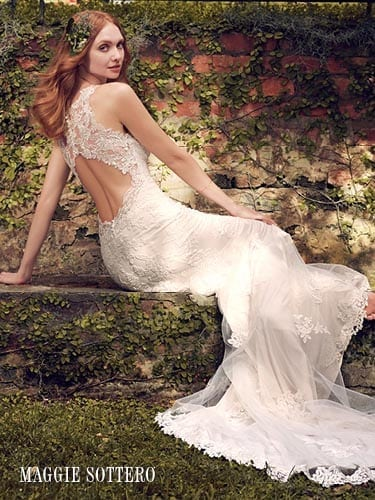 Maggie Sottero Rhonda 8MC556 Lace Wedding Dress