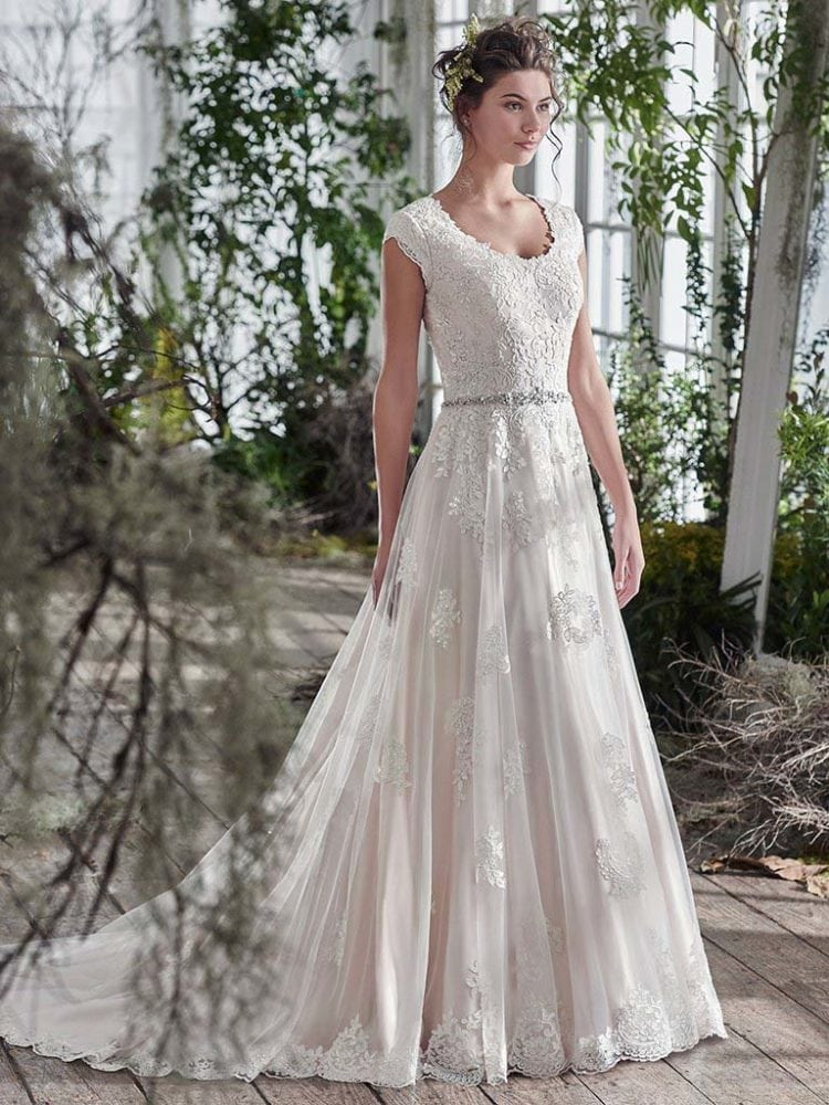 Maggie Sottero Shannon 6MS827 Wedding Gown