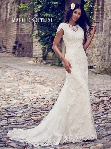 Maggie Sottero Stacey 8MC487 Lace Wedding dress