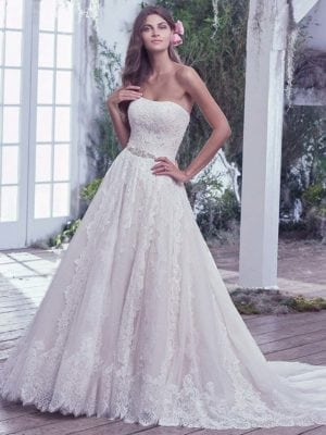 Bridal Gown - Maggie Sottero Temperance 6MS794 - Wedding Gown
