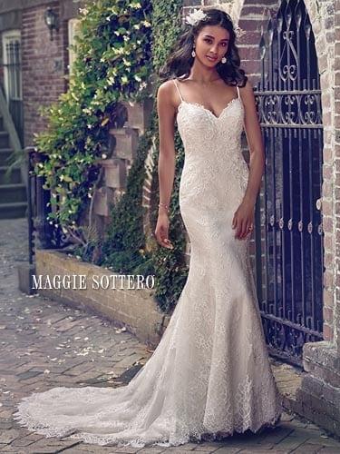 Maggie Sottero Teresa 8MW548 Lace Wedding Dress