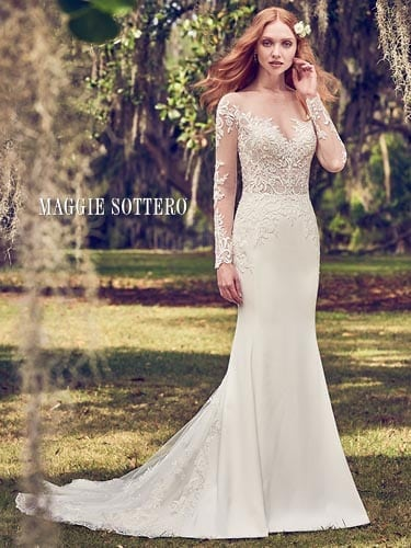 Maggie Sottero Toccara 8MS495 Lace Wedding Dress