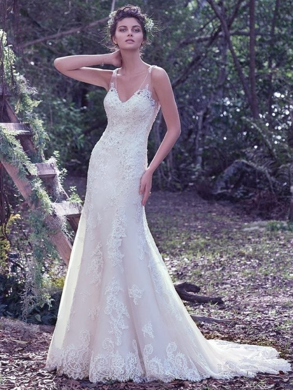 Maggie Sottero Wynter 6MG852 Wedding Gown