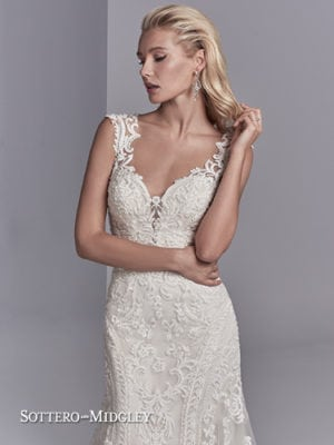 Sottero and Midgley Channing Rose 8ST567