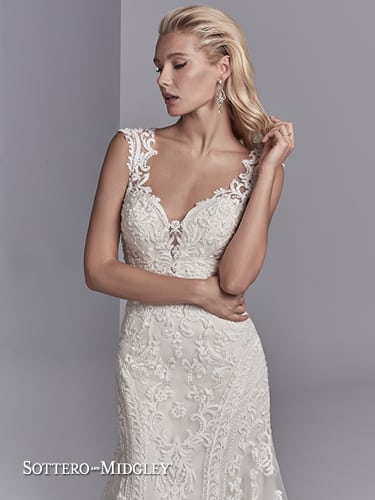 Sottero and Midgley Channing Rose 8ST567 - Patricia South Bridal ...