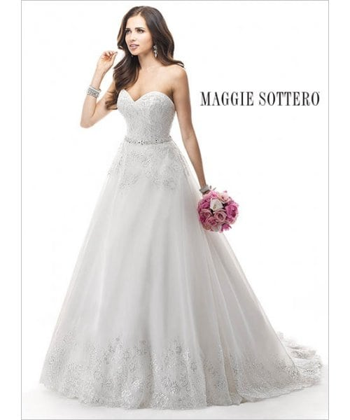 Maggie Sottero Wedding-Dress Zendaya 4MD848