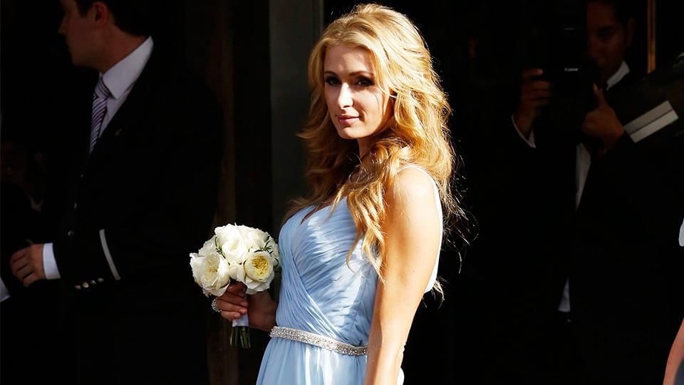 paris hilton bridesmaid1 - 18 Celebs Who Were Bridesmaids to Regular People