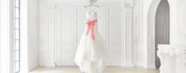 Wedding Dress White Marriage Fashion 380x150 - Thinking Ahead: 4 Ideas on What to Do with Your Dress After the Wedding