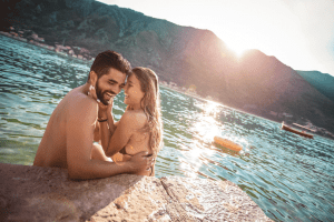 Young Couple Beach 300x200 - Romantic Honeymoon Ideas to Start Your Marriage Right