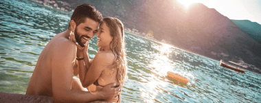 Young Couple Beach 380x150 - Romantic Honeymoon Ideas to Start Your Marriage Right