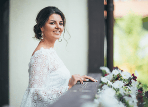 Smiling Bride 300x217 - Simple Tips to Enhance Your Look on Your Big Day