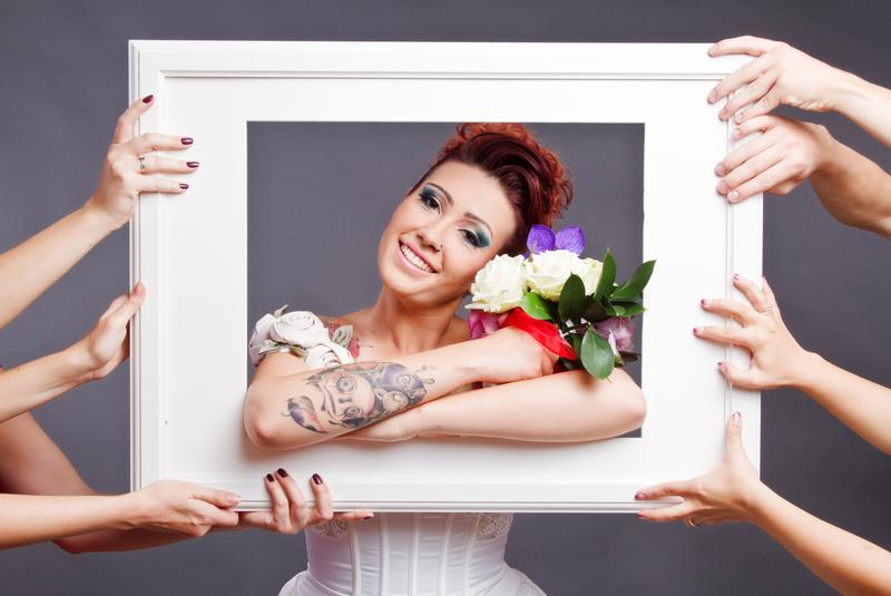 image 0 1 - What You Should Know Before Dying Your Hair Before Your Wedding