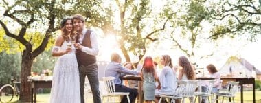 wedding outdoor 380x150 - 3 Tips to Keep in Mind When Having Your Wedding in Your Backyard